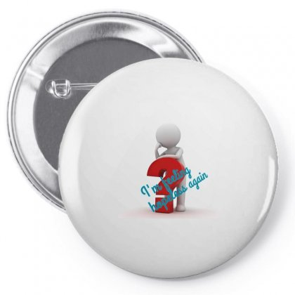 The Confussion Pin-back Button Designed By Btqe International