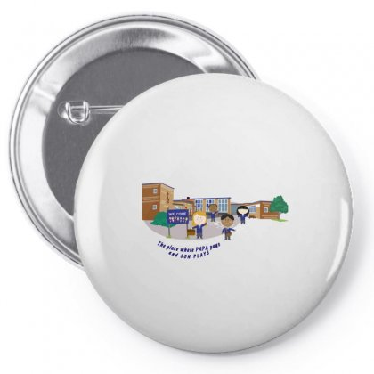The Play House Pin-back Button Designed By Btqe International
