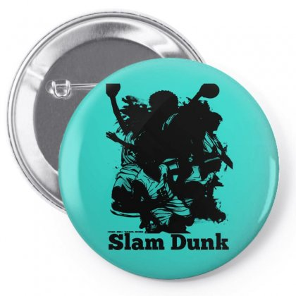 Anime Slam Dunk Shadow Pin-back Button Designed By Jack14