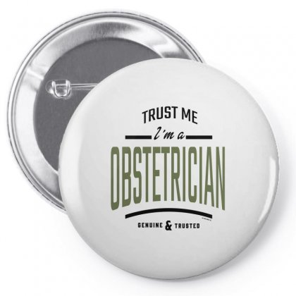 Obstetrician Pin-back Button Designed By Chris Ceconello