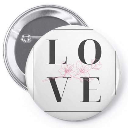 Love Pin-back Button Designed By Virendra