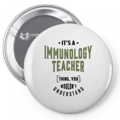 Immunology Teacher Pin-back Button Designed By Chris Ceconello