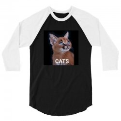 Animals Cats 3/4 Sleeve Shirt | Artistshot
