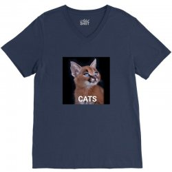 Animals Cats V-Neck Tee | Artistshot