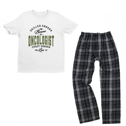 Oncologist Youth T-shirt Pajama Set Designed By Chris Ceconello