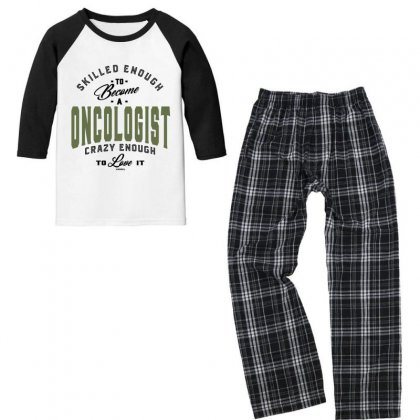Oncologist Youth 3/4 Sleeve Pajama Set Designed By Chris Ceconello