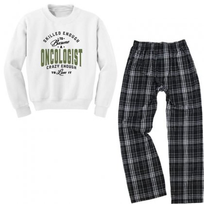 Oncologist Youth Sweatshirt Pajama Set Designed By Chris Ceconello