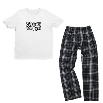 Cumbias' Not Dead Youth T-shirt Pajama Set Designed By Asatya