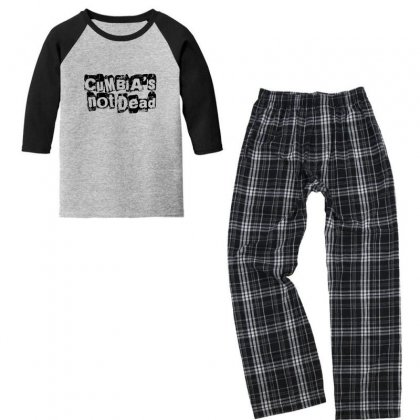 Cumbias' Not Dead Youth 3/4 Sleeve Pajama Set Designed By Asatya