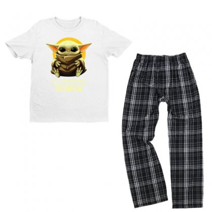 Alone Take It Youth T-shirt Pajama Set Designed By Just4you