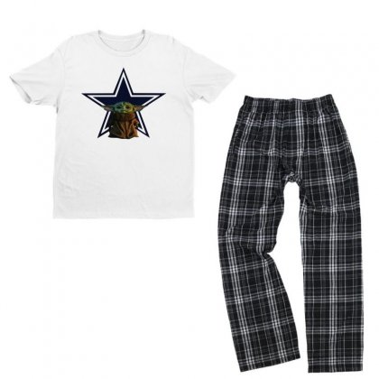 Baby Cowboys Youth T-shirt Pajama Set Designed By Just4you