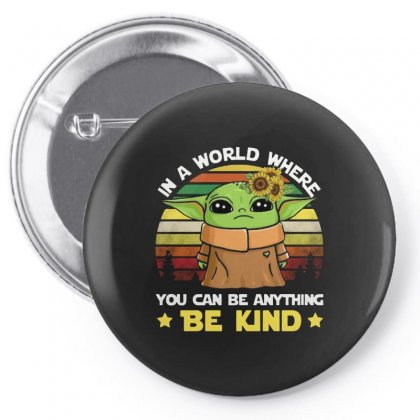 Be Kind Vintage Pin-back Button Designed By Just4you