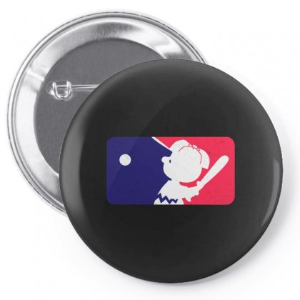 Baseball Funny Pin-back Button Designed By Just4you