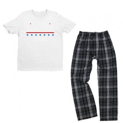 Bernie Sanders Youth T-shirt Pajama Set Designed By Just4you