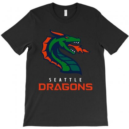 Cool Dragons T-shirt Designed By Just4you