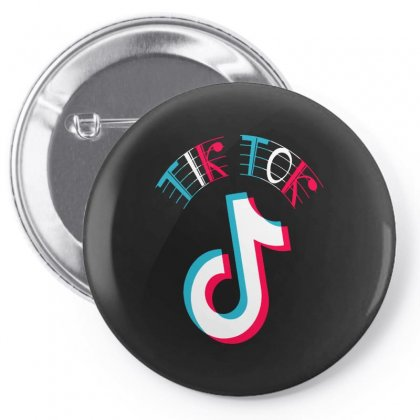 Musically Tik Pin-back Button Designed By Just4you