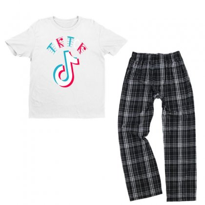 Musically Tik Youth T-shirt Pajama Set Designed By Just4you