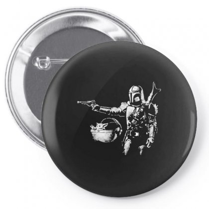 Pulp Mando Meme Pin-back Button Designed By Just4you