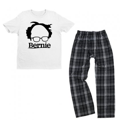 Sanders 2020   Black Youth T-shirt Pajama Set Designed By Just4you