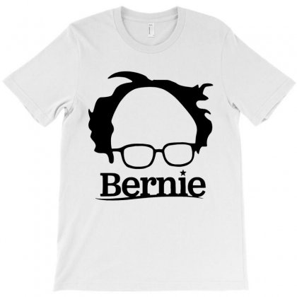 Sanders 2020   Black T-shirt Designed By Just4you