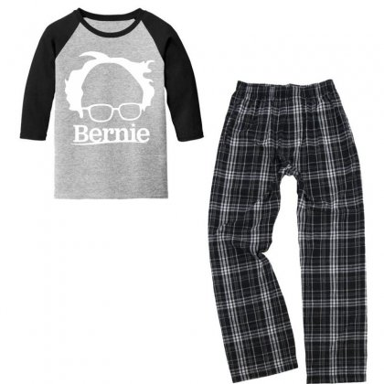 Sanders 2020   White Youth 3/4 Sleeve Pajama Set Designed By Just4you