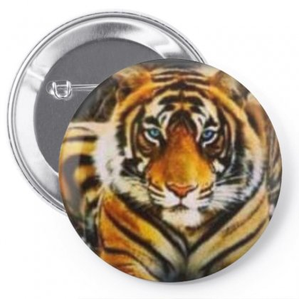 Animal Tiger Pin-back Button Designed By Jack14