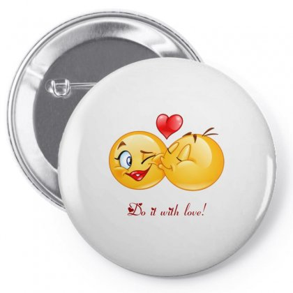 Love With Passion Pin-back Button Designed By Btqe International