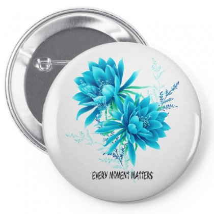 Love Is The Flower Pin-back Button Designed By Btqe International