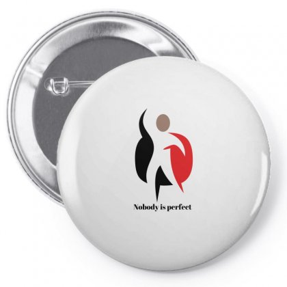Perfectly Imperfect Pin-back Button Designed By Btqe International