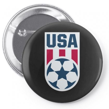 Usa Ball Pin-back Button Designed By Just4you