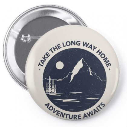 T Shirt Design Maker With An Adventure Quote 1850 Pin-back Button Designed By Aleks