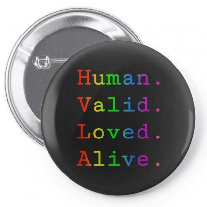 Human Alive Pin-back Button Designed By Just4you