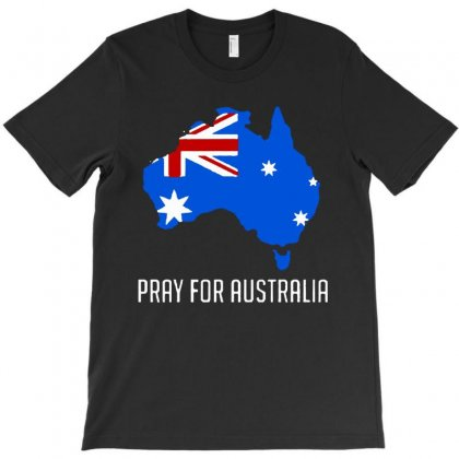 Pray For Australia T-shirt Designed By Just4you