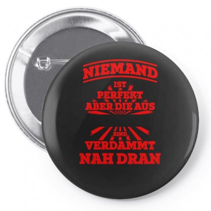 Niemand Pin-back Button Designed By S4bilal