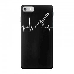 bass guitar heartbeat iPhone 7 Case | Artistshot