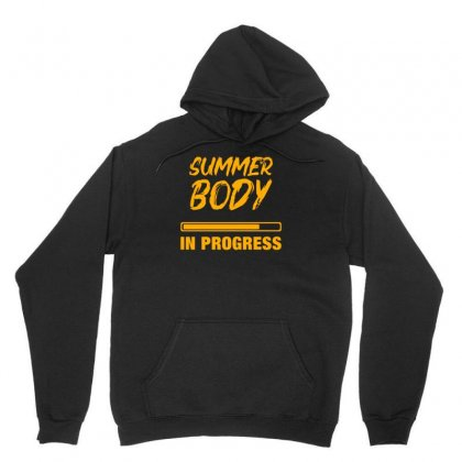 Summer Body Unisex Hoodie Designed By S4bilal