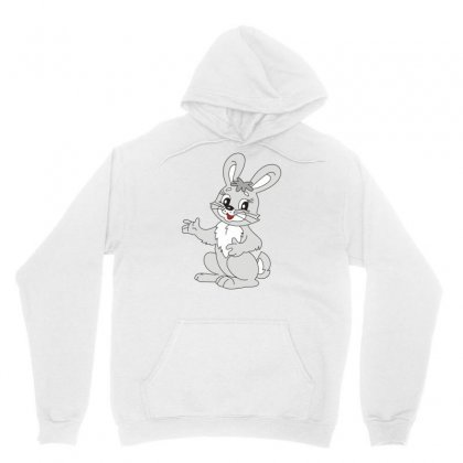 Cute Bunny Cute Rabbit Girls Child Teenagers Funny Attractive Cool Ent Unisex Hoodie Designed By Artist1