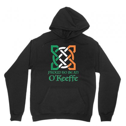 Proud To Be An O'keeffe Celtic Knot St Patrick's Day Unisex Hoodie Designed By Kakashop