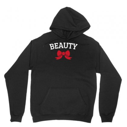 Beauty With Ribbon Funny Unisex Hoodie Designed By Milamaftah