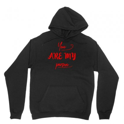 You Are My Person Unisex Hoodie Designed By S4bilal