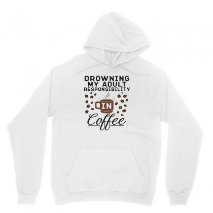 Drowning In Coffee Unisex Hoodie Designed By Hoainv