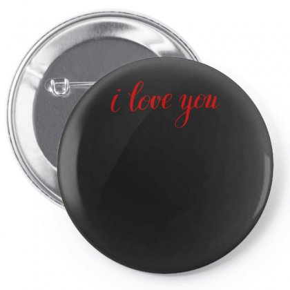 I Love You Pin-back Button Designed By S4bilal