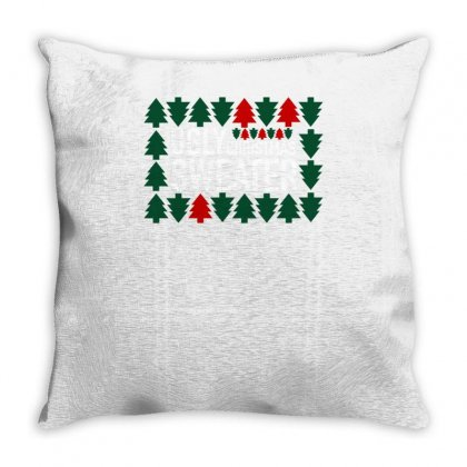 Ugly Christmas Throw Pillow Designed By S4bilal