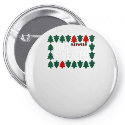 Ugly Christmas Pin-back Button Designed By S4bilal