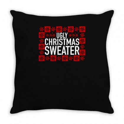 Ugly Sweater Throw Pillow Designed By S4bilal
