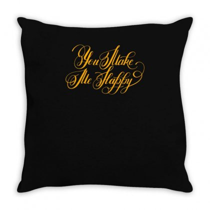 You Take Throw Pillow Designed By S4bilal