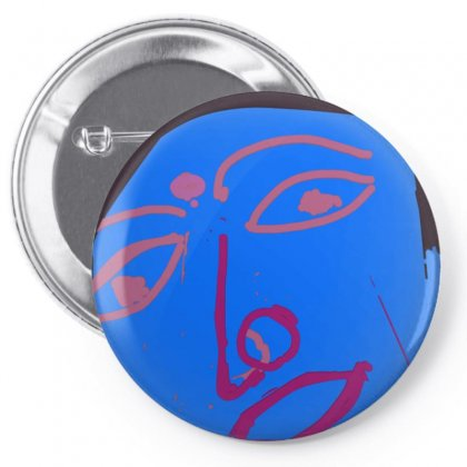 Face Pin-back Button Designed By Achintya