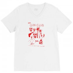 The Gun Club V-Neck Tee | Artistshot