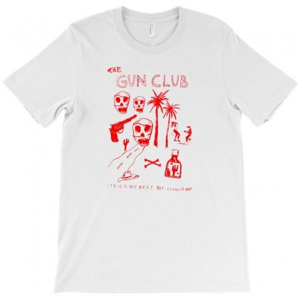 The Gun Club T-shirt Designed By Rakuzan