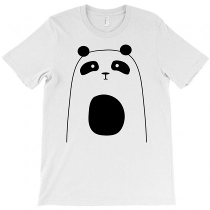 Cute Panda T-shirt Designed By S4bilal